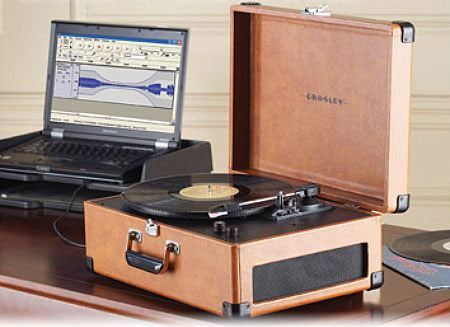 Crosley Keepsake Retro Turntable Adds USB Ripping