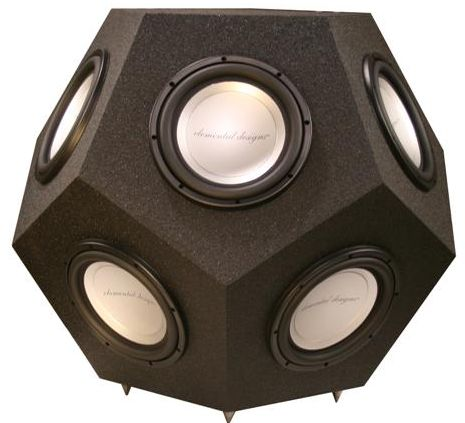 Dodecasub: 12-Sided Woofer Scores Massive Hit Points