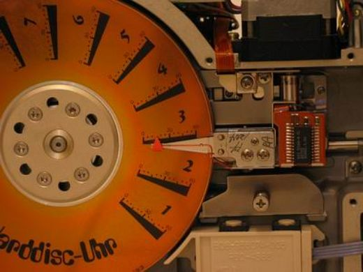 Best Hard Disk Clock Ever