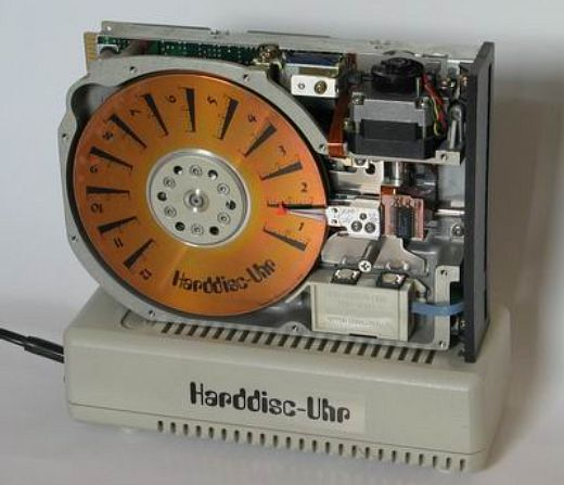 Harddisc Uhr Mod