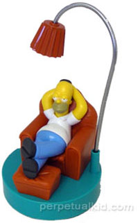 Homer Simpson USB Lamp Isn't Very Bright