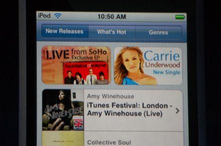 iTunes Wi-Fi Store