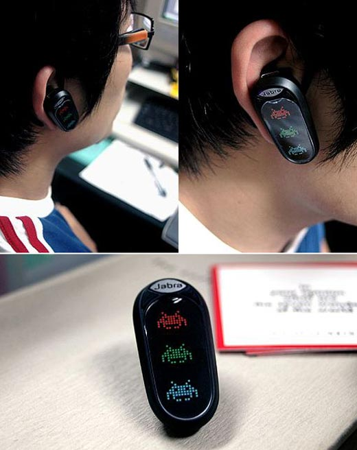 Space Invaders Sighted on Bluetooth Headset