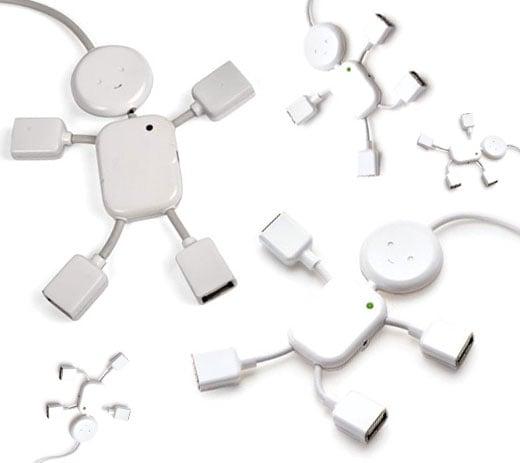 Kikkerland USB Hub Guy