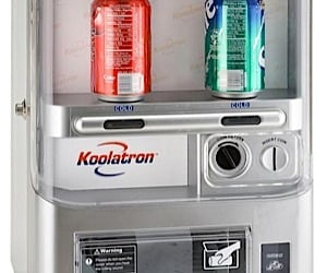 Koolatron Coin-Op Fridge Keeps Can Moochers Out