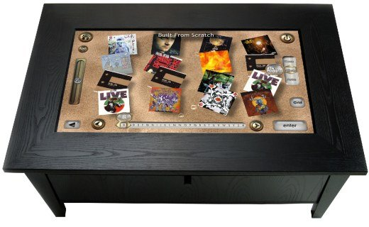 ROSIE Coffee Table Touchpanel Controller