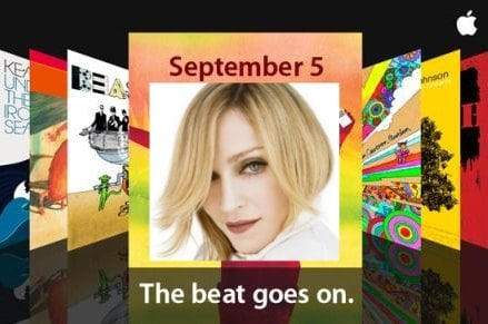 Apple 9/5 Event to have Madonna Connection?