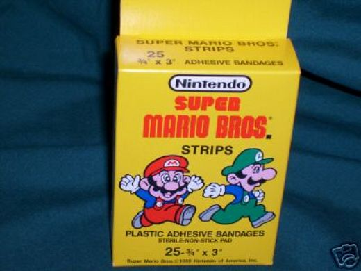 Super Mario Bandages