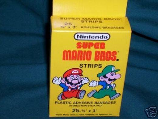 Super Mario Bandages