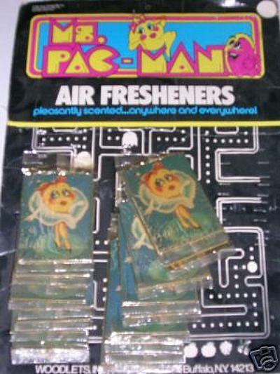 Ms. Pac-Man Air Fresheners