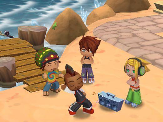 MySims on the Beach