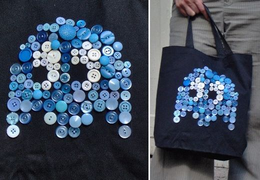 Pac-Man Inky Ghost Bag: Booyah!