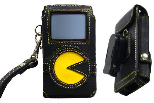 Pac-Man Mp3 Player Case Keeps Ghosts Away