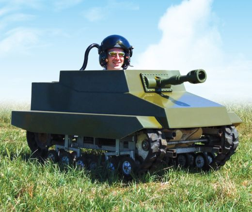 Mini Paintball Tank