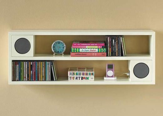 Modular Speaker Shelf by PBTeen