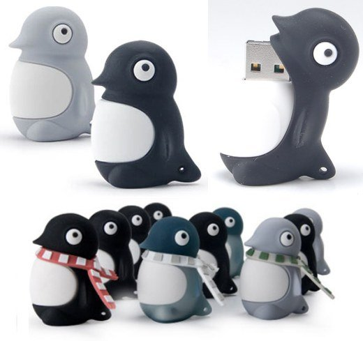 USB Penguin Flash Drives