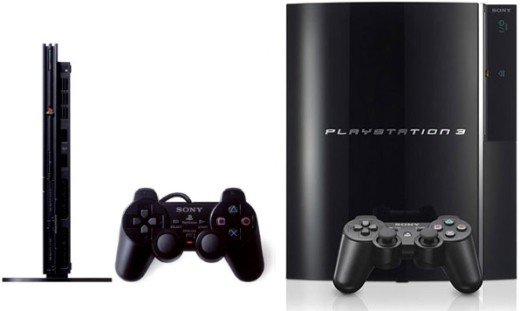 Sony PS2 and PS3