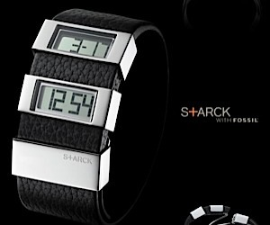 Starck's Latest Fossil Watch has a Split Personality