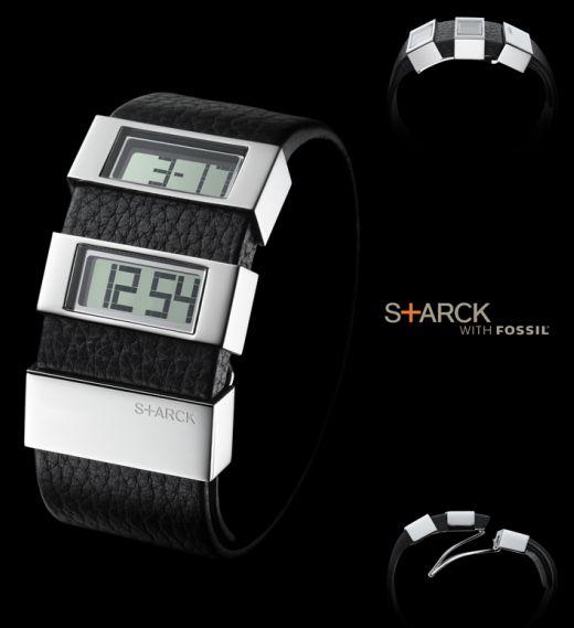 Starck's Latest Fossil Watch has a Split Personality