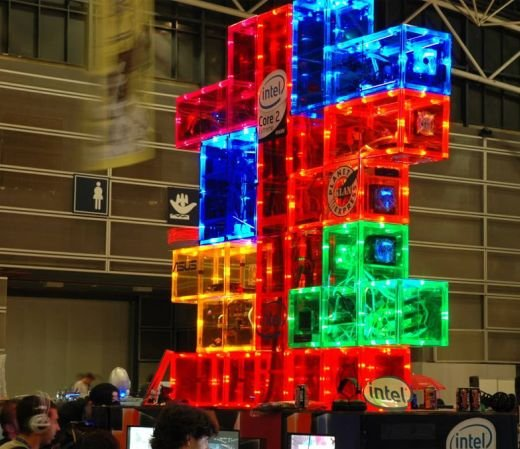 Tetris Casemod by Planet Express Klan