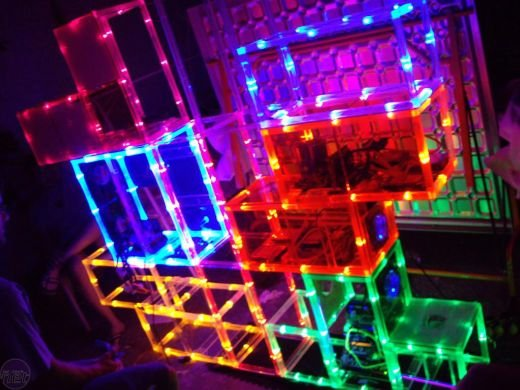 Tetris Casemod by Planet Express Klan