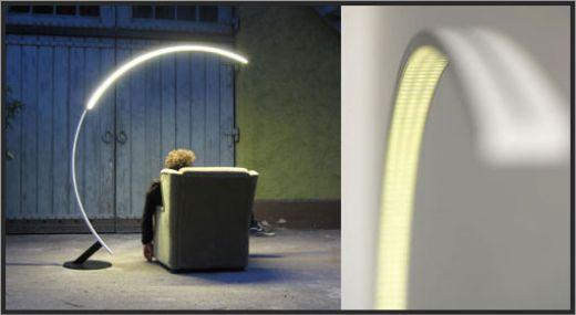 Troja Arc Lamp by hansandfranz