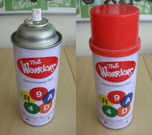 The Warriors Spray Paint Can