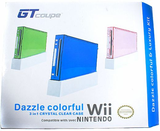 Wii Dazzle Colorful Case