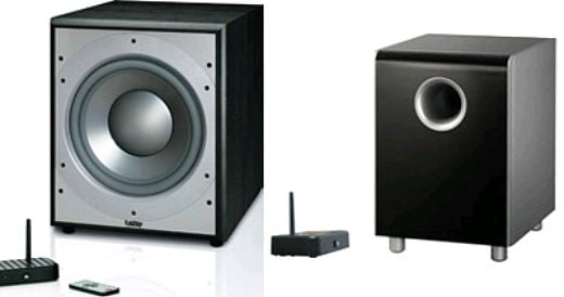 JBL and Infinity Wireless Subwoofers