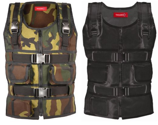 Force Feedback Gaming Vest Lets You Feel Real Impact