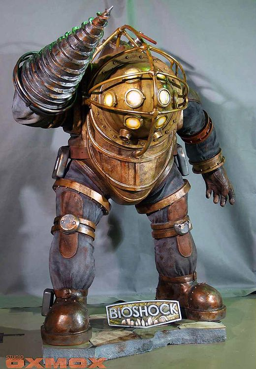 bioshock big daddy life-sized