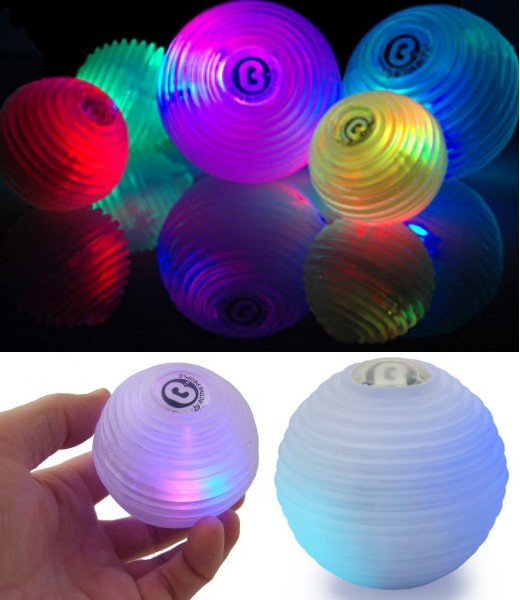 BOING Balls LED Colored Juggling Balls