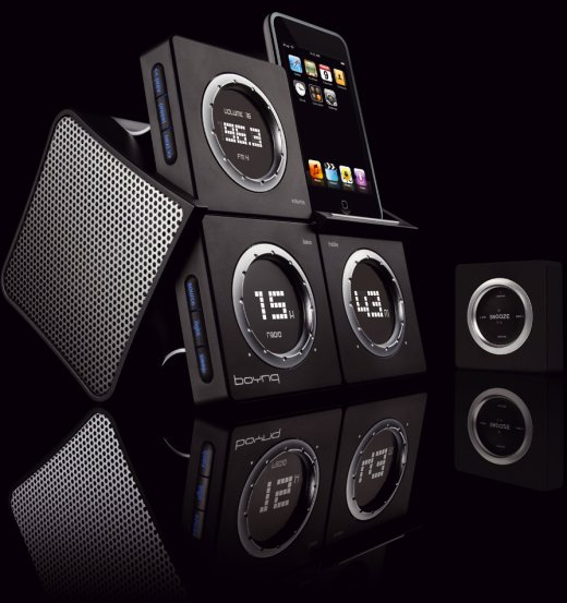 Boynq WakeUp Alarm Clock iPod Dock