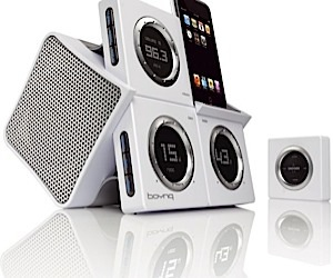 Bonyq Wakeup: Stylish Alarm Clock iPod Dock