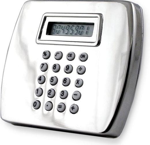 Calculator Belt Buckle for Super-Duper-Geeks