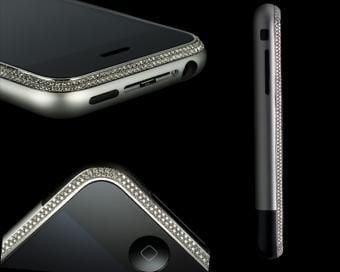 Diamond Encrusted iPhone Sparkles