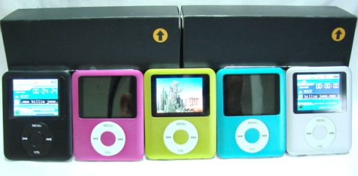 Clone Wars: iPod Nano Knock-Offs Under $50
