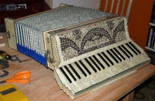 Enrico Accordion PC Case Mod