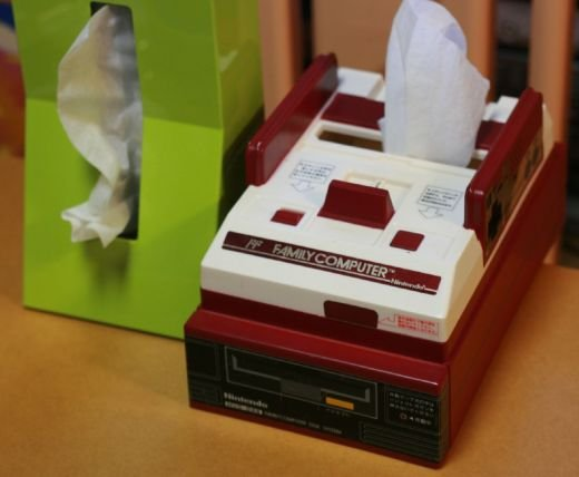 Famicom Tissue Box