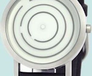 Spear Free Time Watch Tells Time With Spinning Rings