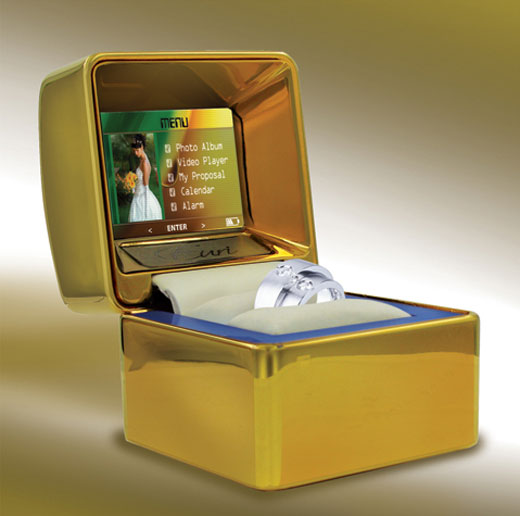 Euricase Multimedia Ring Box