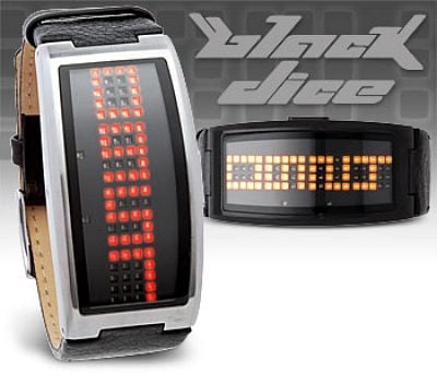 Black Dice Guru Digital Watch