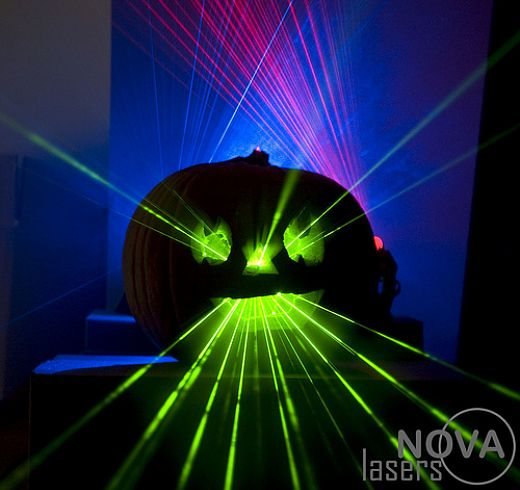 NOVA Lasers Halloween Pumpkin