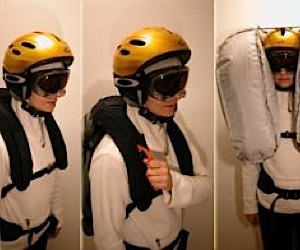 Avalanche Airbag Looks Stupid, Saves Lives