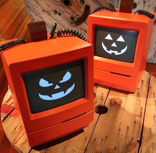 Mac O Lanterns from MAKE