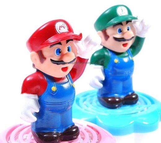 Mario and Luigi Air Fresheners