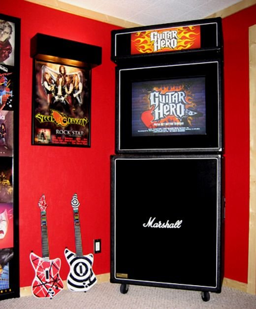 marshall guitar hero casemod