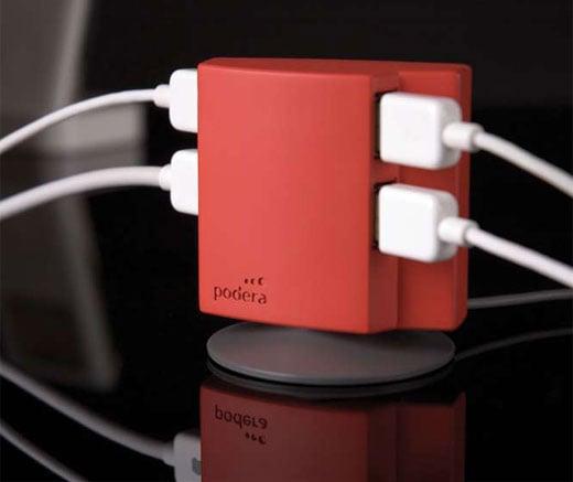 Podera 4-port USB Hub