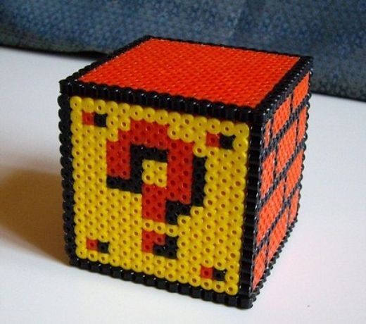 Mario Question Mark Block by Lostmitten