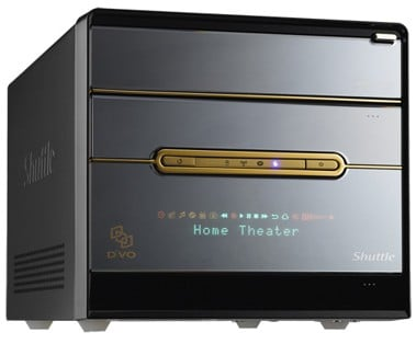 Shuttle D'Vo Home Theater Pc: Small Package, Big Boom